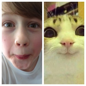 Kid looks like Cat